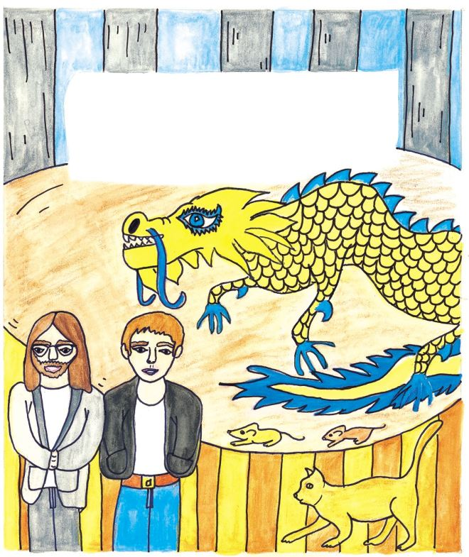 Chinese dragon, Beatles, John and Paul
