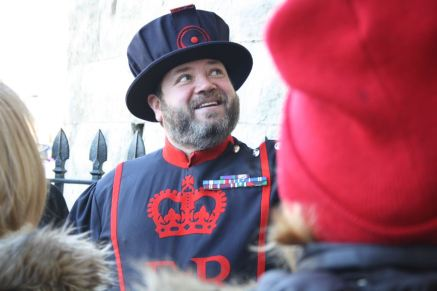 Yeoman Warder, Beefeater, Tower of London