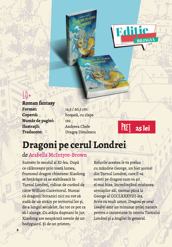 Dragons - Booklet catalogue