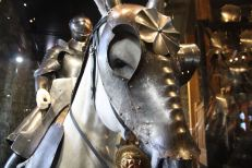 Henry VIII's armour - his horse had armour too.