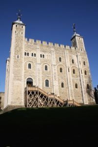 The White Tower at the Tower of London